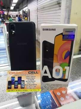 Teléfono A01 nuevo, garantía de un año