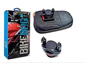 Soporte Estuche para Moto Celular Universal 100% impermeable de Alta Calidad