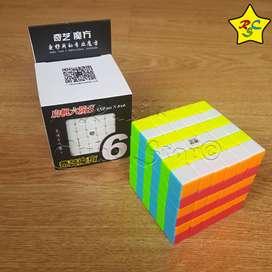 Cubo Rubik 6x6 Qifan S Qiyi Profesional Speed Stickerless