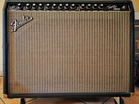 Amplificador de guitarra fender twin amp 100w