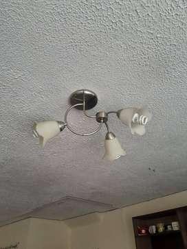 LAMPARA EN FORMA DE FLOR
