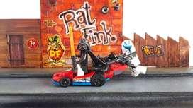 Hotwheels para figuras lego o similares