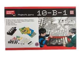 Set juegos mesa 10 en 1 familiar
