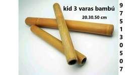 bambú masaje