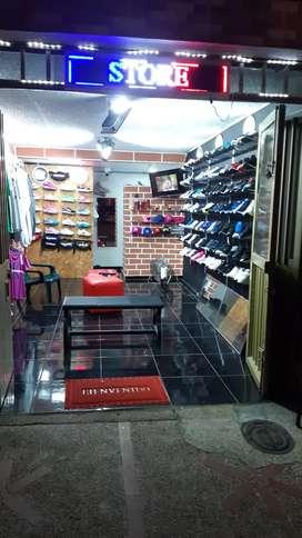 Tiendq de ropa y zapatillas