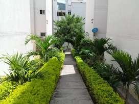 Apto con terraza bello como ninguno