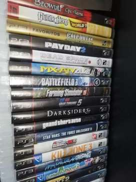 Juegos PS3 Play 3 Cambio o Vendo. Garantía