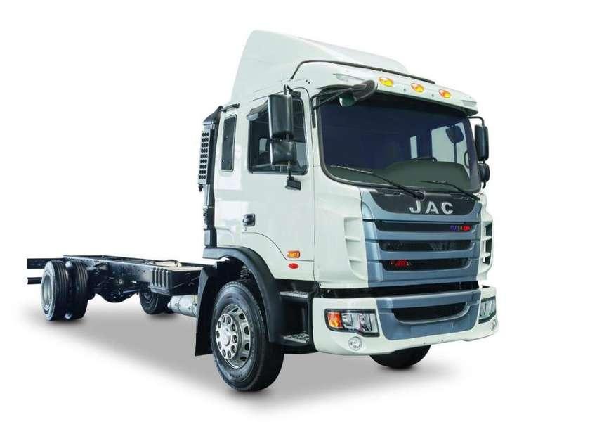 Camión JAC 10 toneladas chasis EURO 5 - HFC5161 CH 4X2 E5 0