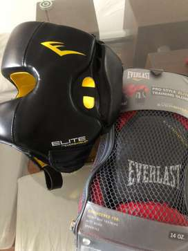 Vendo casco y guantes averlast nuevo