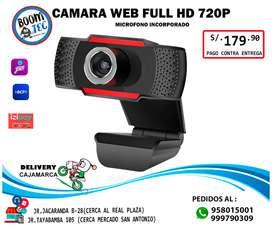 CÁMARA WEB FULL HD 720
