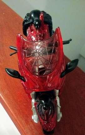 Spiderman Moto con Sidecar