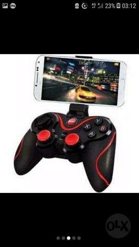 Joystick Celular Smartphone Tablet Android C/Bluetho Soporte Hasta 5,5' Cable De Carga ACEPTO TODAS LAS TARJETAS