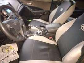Hyundai Santa Fe 7PAS AC 2.4 5P 4x2  tipo Jeep año 2014 transmisión mecánica, a toda prueba documentos al día (Negociabl