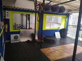 Se vende elementos sala de entrenamiento funcional – Crossfit