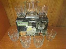 Set de Vasos de Whisky O Jugo