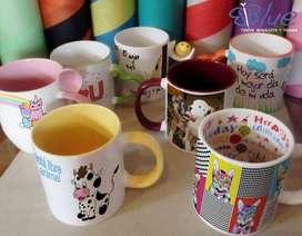 Mugs Pocillos Tazas Estampados Personalizados