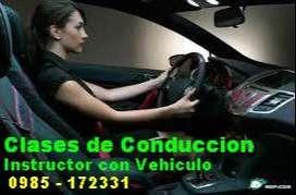 clases de Conduccion - Instructor con Auto - Guayaquil