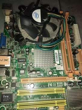 Board drr2 con procesador Intel Core duo