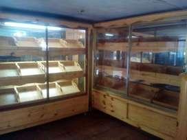 vendo 10 paneras de madera de 20 16 12 y 8 canastas para panadería totalmente nuevas