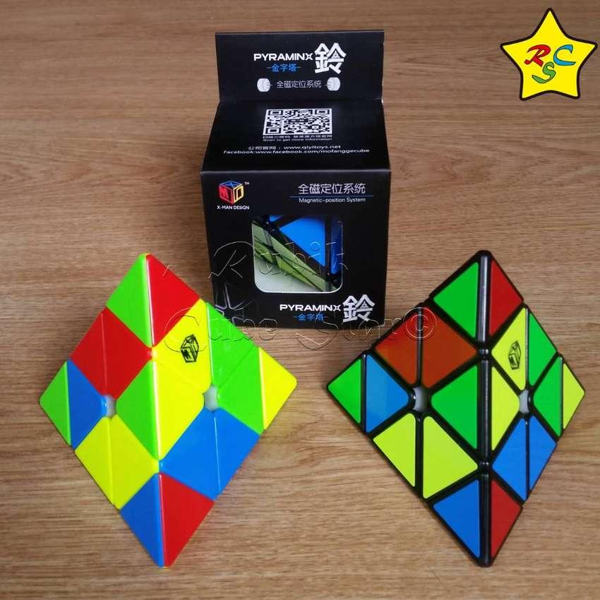 Cubo Rubik Pyraminx Magnetico Qiyi 3x3 Cube Speedcube 0