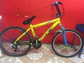 Vendo o cambio bicicleta montañella modificada para stunt