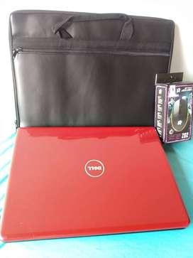 portátil dell Core i7 4gb RAM disco duro 200gb batería nueva