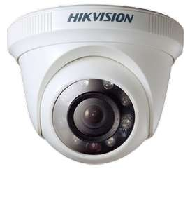 cámara de seguridad turbo hd 1080p tipo domo hikvision