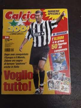 revista calcio 2000 ,numero 36 , sin album
