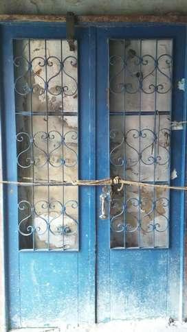 Porton Antiguo Metalico 2 Hojas