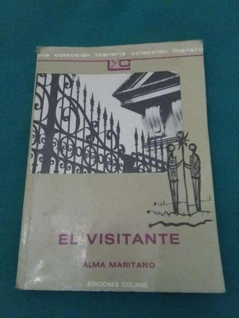 El Visitante . Alma Maritano . Libro Ediciones Colihue . 1995 0