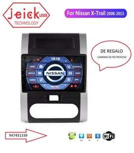"""Nueva Radio Nissan Xtrail 2008 - 2009 - 2010 - 2011 - 2012 Android 10"""""""