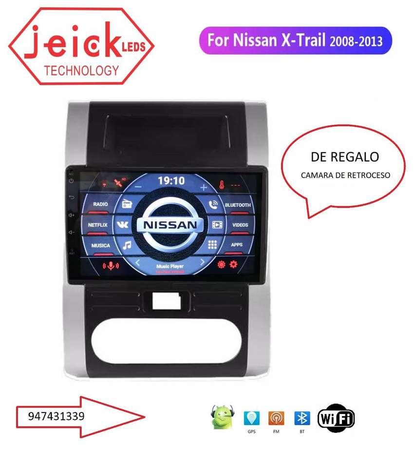 """Nueva Radio Nissan Xtrail 2008 - 2009 - 2010 - 2011 - 2012 Android 10"""" 0"""