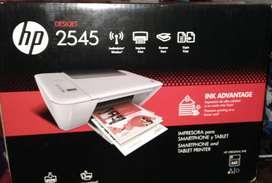 Impresora Hp Ink Advantage 2545  (sin Cartuchos) Como Nueva