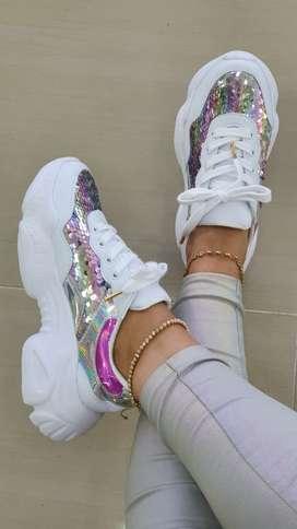 Tenis Sneakers para dama
