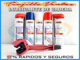 Lubricantes de cadena IPONE grasa de color en spray y lubricante ns200 r15 cb190 fz yamaha honda pulsar ktm bajaj