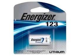 Pila De Litio 123 Energizer Blister X1 Alarma Sensor Camara.