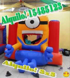 vendo inflable de 3x3