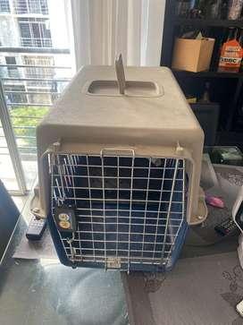 Huacal o kenel  para trasporte de perro