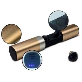 Audifono Bluetooth Tws2 Por Mayor Negro Rojo Plata Y Dorado