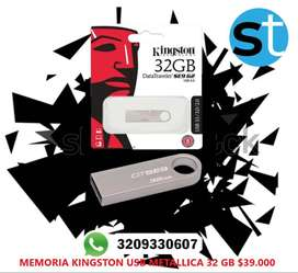 MEMORIA KINGSTON USB METALICA 32GB