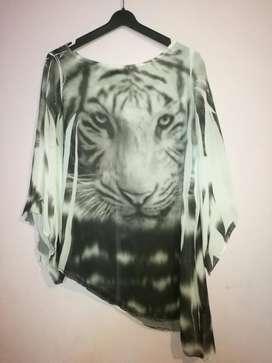 Blusa de Tigre Talla Xs