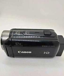 Remató filmadora Canon Vixia HF R500