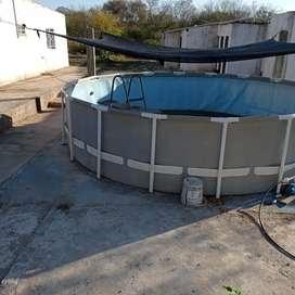 Venta de piscina de 5mts de diámetro x 1.2mts de profundidad
