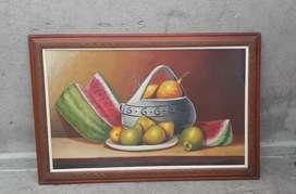 Pintura en cuadro