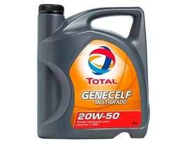 Aceite multigrado GENECELFde Total 20w50 x 4 Lts
