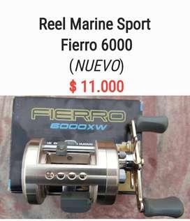 Reel Marca Marine Sport Fierro