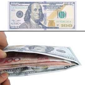 Billetera Tarjeteros Billetes Soles Dolares Euros