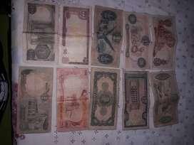 Colección billetes colombianos
