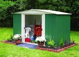 Deposito De Jardín Arrow Rmg86 253x181x190 Cm Importado Usa