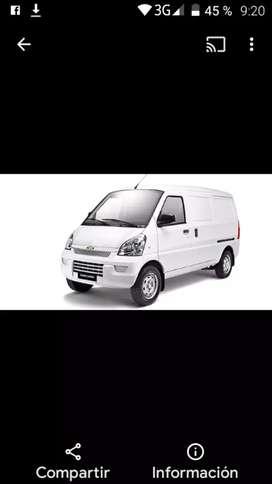Me ofrezco como conductor repartidor, domiciliario con vehículo tipo minivans